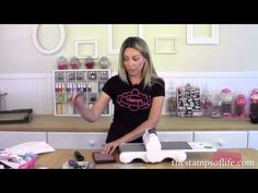 The Stamps of Life: Sizzix Precision Base Plate & Die Brush with Foam Pad - YouTube