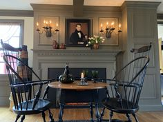 Fireplace Hearth, Fireplaces, Country Living, Country Decor, Hearths, Living Spaces, Living Room, Primitive Country, Mantles