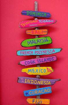 Colorful places to visit!