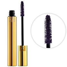 Yves Saint Laurent MASCARA VOLUME EFFET FAUX CILS - Luxurious Mascara in 4 Fascinating Violet - deep purple #sephora