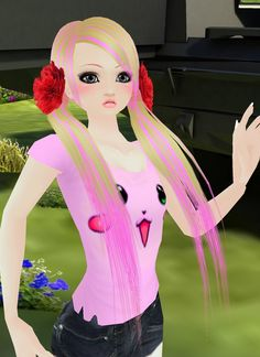 Captured Inside IMVU - Join the Fun!  Girl kids!