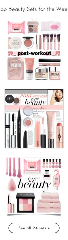"""""""Top Beauty Sets for the Week"""" by polyvore ❤ liked on Polyvore featuring beauty, Fresh, Lapcos, Clinique, Olay, Maybelline, L'Oréal Paris, Luxie, gymbeauty and Charlotte Tilbury"""