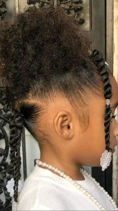 Mixed Baby Hairstyles, Little Girls Natural Hairstyles, Toddler Braided Hairstyles, Kids Curly Hairstyles, Black Baby Girl Hairstyles, Peinados Pin Up, Blog, Hair Styles, Natural Hair