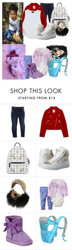 """""""With Daddy today"""" by ebony-kayla ❤ liked on Polyvore featuring Monsoon, Moschino, MCM, Philipp Plein and Dolce&Gabbana"""