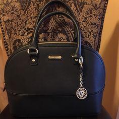 SALE!! Black Anne Klein Satchel PRICE FIRM! Fun & Sassy Black Anne Klein Satchel for everyday wear. Excellent Condition! Bags Satchels