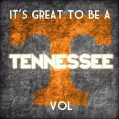 It's great to be a TN Vol!