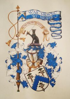 Arms of Grewar. Romanov Sisters, Paperback Writer, Scottish Clans, Coat Of Arms, Good Books, Logo Design, Flag, Display, History