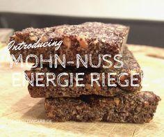 Paleo Mohn-Nuss Energieriegel #Snack #Bar #Paleo #Nuss #Mohn #Riegel #Energie #LowCarb #LCHF