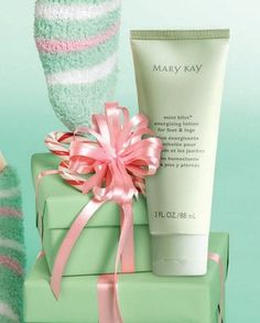 Mary Kay Mint Bliss lotion. As a Mary Kay beauty consultant I can help you, please let me know what you would like or need. www.marykay.com/KathleenJohnson  www.facebook.com/KathysDaySpa.