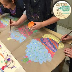 Wayne Thiebaud Cupcake Confections and More [2nd Grade] #art