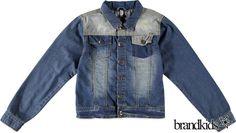 Kidzface Spijkerjasje blauw - Jongens Colberts en Blazers €49,95