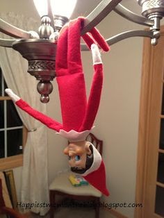 Happiest Mom on the Blog: Now Over 110 Elf on the Shelf ideas