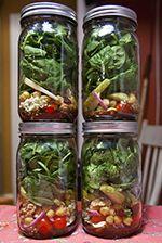 Diet Zone Diet Ideas Mason Jar Salad