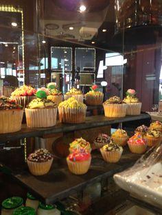 Mini cupcakes en el Hotel Plaza