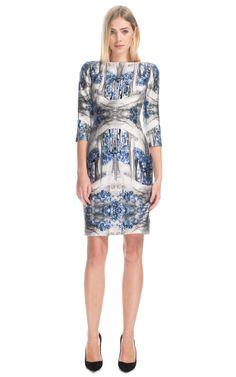 Spotlight: Prabal Gurung Storm Blue Sheath Dress  One of Kate's dresses