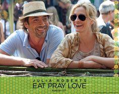 "Julia and Bardem  ""Eat Pray Love"""