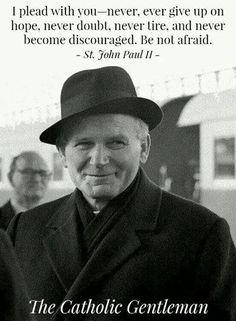 Karol Wojtyla knows how to wear a hat. Catholic Quotes, Catholic Prayers, Catholic Saints, Roman Catholic, Catholic Dating, Papa Juan Pablo Ii, Juan Xxiii, Catholic Gentleman, Pope John Paul Ii