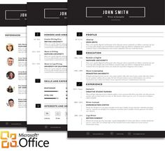 10 best Our creative resume templates collection images on Pinterest ...
