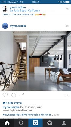La Jolla Beach, California Homes, My House, Loft, Interior Design, Bed, Inspiration, Furniture, Home Decor