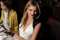 Lily Donaldson in Chanel.