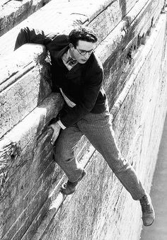 Harold Lloyd in 'The Kid Brother', 1927. ☚