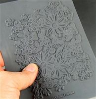 """and this is the stamp sheet i used for the Quickie """"Fun Flower"""" project... although any rubber stamp with a floral image will work great!  #diy #polymer #stampsheet #flowers #christifriesen"""