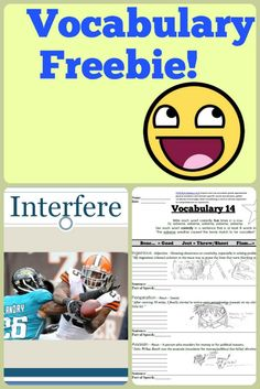 *FREE* Students will have a blast learning from weekly practice packets that include clear definitions, fun hand drawn illustrations, comprehensive crossword puzzles, and unique examples. Also included in this free package are paired assessments to test student mastery of spelling and meaning. BONUS: Matching Power-Points to help out visual learners.