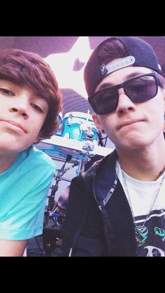 Hayes Grier and Carter Reynolds