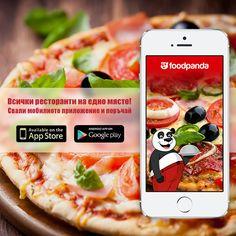 Най-забавният начин да заситиш глада си в движение! Презареди с поръчка от мобилното приложение на Foodpanda, бързо и лесно!