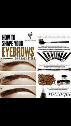 Perfect eyebrows Order the products from me