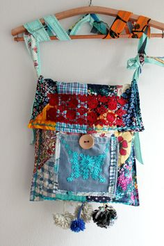 Boho bag hippie bag Patchwork bag Gypsy by Nazcolleccolors on Etsy