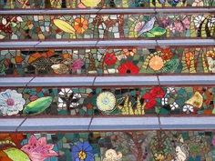 Mosaic steps by ollie