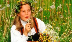 Flower power: Midsummer is a significant part of Swedish (and Scandinavian) culture