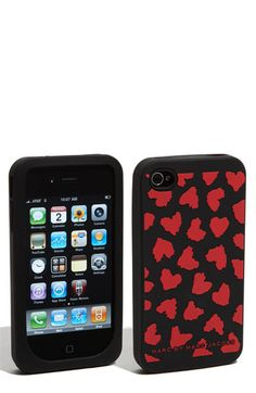 Marc by Marc Jacobs 'Wild Hearts' iPhone 4 & 4S Cover, so cute for Valentine's Day