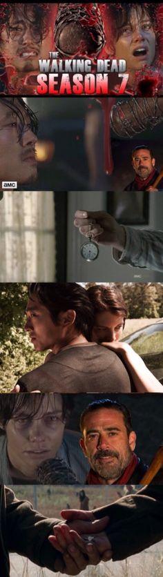The Walking Dead - Season 7, Glenn's Pocket Watch Or Maggie's Ring ?