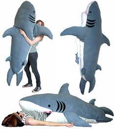 Ever had nightmares about being eaten by a shark?  Sleeping in this won't help.
