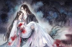 I believe that dreams come true because mine did when I met you. ❤❤❤❤ Welcome to free read the best romance stories on Chinese Drawings, Chinese Art, Anime Art Girl, Manga Art, Sea Of Stars, Anime Love Couple, Anime Angel, Anime Couples Manga, Historical Art
