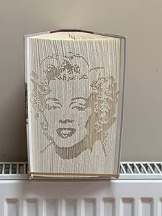 This will make a perfect unique gift for any occasion + great & fab art. Can be decorated in most colours 👍💕 Marilyn Monroe Books, Handmade Crafts, Handmade Items, Book Folding, Color Box, Picture Tag, Craft Gifts, Unique Gifts, Etsy Seller