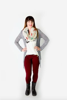The Whitney Cardigan -- wear it now, wear it later. Today's Style Steals include transitional items to take your wardrobe from summer to fall! Use code MIXEDSEASONS