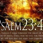 Having Inspirational Bible Verses Wallpaper for Your Personal Computer:Inspirational Bible Verses Wallpaper Psalm 23-4