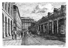 Covent Garden (London) - drawings and paintings by Stephen Wiltshire MBE