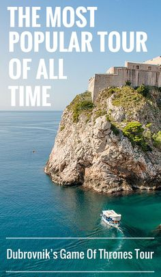 When we visited Dubrovnik, this tour was #1 on our list. But we weren't alone. This tour is #1 on everyone's list, and that's not an exaggeration. Tours By Locals runs thousands of tours all over the world and this is their most popular tour… for good reason too. Game of Thrones Tour in Croatia. #GOT Travel