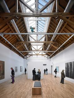 McManus Galleries with modern museum interior