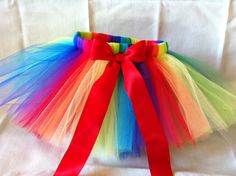 rainbow party   Rainbow Party Tutu by TheApricotTree on Etsy