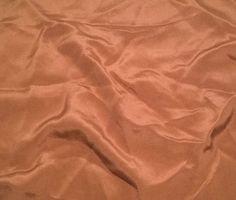 """Toffee Brown - 30mm Silk Crepe (11""""x12"""")"""