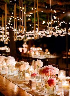 wedding decor.#candlelight