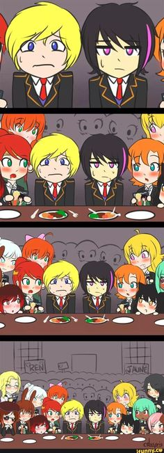 Meanwhile, in Beacon's Mess Hall.