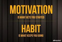 Good Habits become a lifestyle....