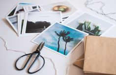 Home made greeting cards using Artifact Uprising photo printing// The Clever Bunny
