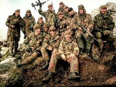 Battle of Mount Tumbledown - Falklands War These are men from The 2nd Battalion Scots Guards who lost 8 men in the attack, and secured the mountain! For the courage displayed in the attack. Men from this Battalion were awarded 1Distinguished Service Order, 2 military Crosses, 2 Distinguished Conduct Medals (One Posthumously) And 2 Military Medals.